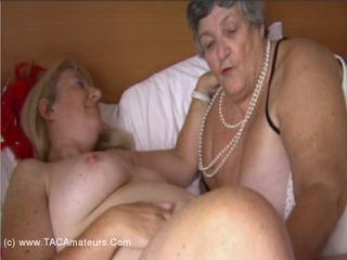 Grandma Libby - Lesbo Bath Time Pt1 Video