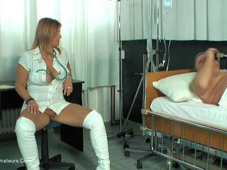 Nude Chrissy - Chris The Horny Nurse HD Video