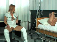 NudeChrissy - Chris The Horny Nurse HD Video