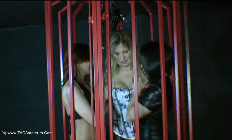 NudeChrissy - Three Girls In A Cage Pt3 scene 3