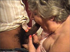 GrandmaLibby - Interracial Fantasy Pt1 HD Video