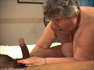 Grandma Libby - Interracial Fucking Pt4 HD Video