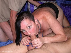 Mary Bitch - Gangbang and dogging in the car park Photo Album