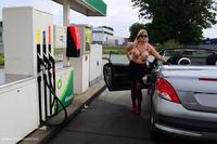 nudechrissy - Sexy At The Petrol Station Free Pic 4