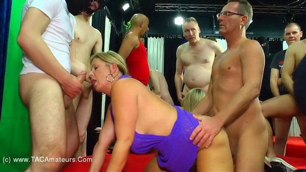 NudeChrissy - Gang Bang Pt2 scene 1