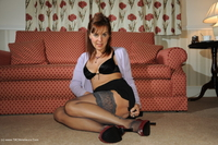 georgie - Stockings and Pussy Show Free Pic 4