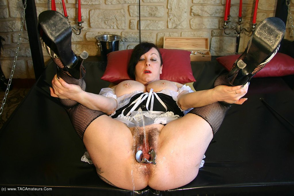 French maid pussy