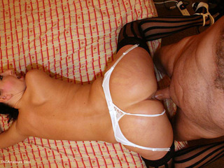 Tracey Lain - Traceys New Stockings  Suspenders Pt1 HD Video