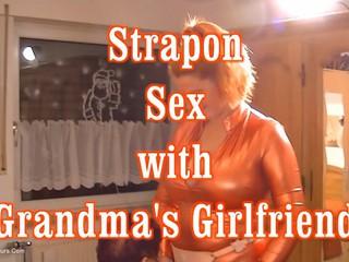Angel Eyes - Strap On Sex With Grandmas Girlfriend HD Video