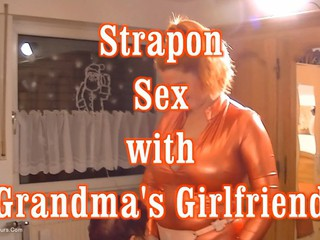 Angel Eyes - Strap On Sex With Grandmas Girlfriend Pt2 HD Video