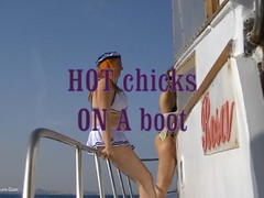 AngelEyes - Two Hot Chicks On A Boat HD Video