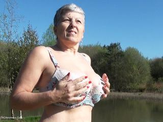 Savana - Stripping by the lake HD Video