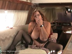Misha MILF - Smoking Arse Fuck Video