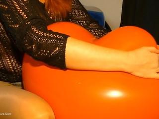 Angel Eyes - Balloon Girls Pt1 HD Video