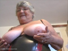 Grandma Libby - Spunky Birthday Pt1 HD Video