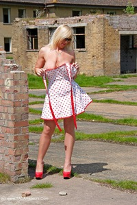 melody - Spotty Dress Free Pic 3