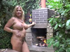 NudeChrissy - Nude Barbeque HD Video