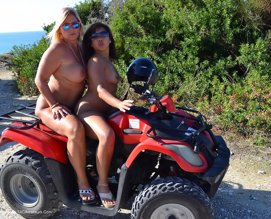 Commit error. Fat girls on four wheelers with you
