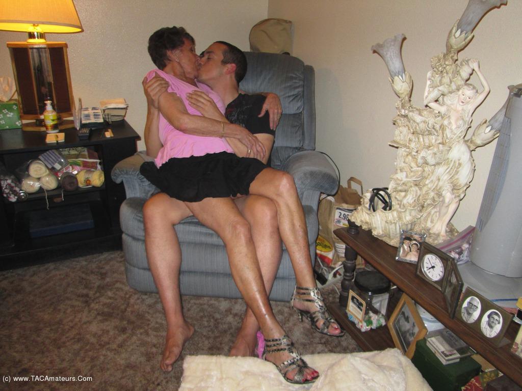 92 years old granny doing deepthroat - 2 part 3