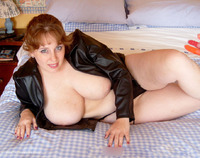 curvyclaire - Leather Jacket Free Pic 2