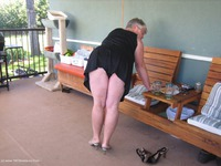 girdlegoddess - On The Patio Free Pic 2