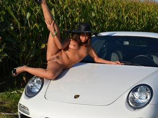 Asian Deepthroat - Fun With The Porsche Picture Gallery