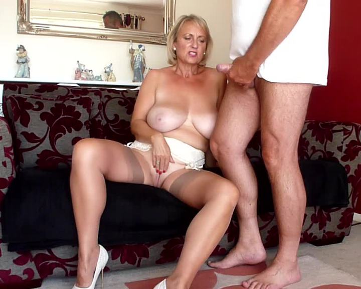 Threesome porn mother