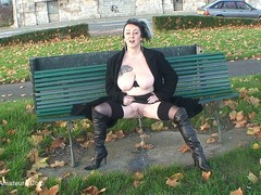 MaryBitch - Public Pissing HD Video
