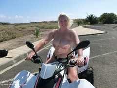 Barby - Naked Quad Bike Fun HD Video