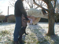 MaryBitch - Whore In The Snow Pt2 HD Video