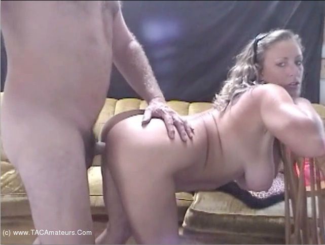 AwesomeAshley - Retro Couch Sex Pt2 scene 0