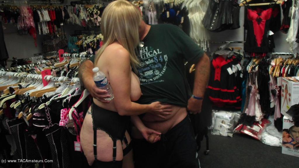 BarbySlut - Sex Shop Barby scene 0