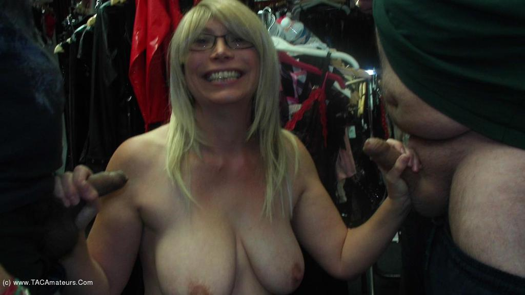 BarbySlut - Sex Shop Barby scene 2