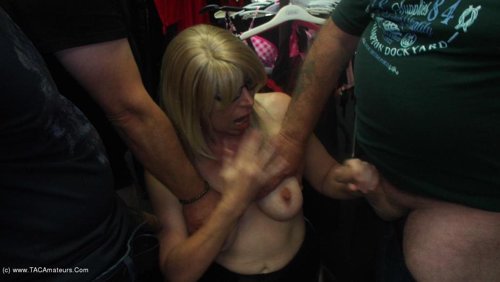 BarbySlut - Sex Shop Barby scene 3