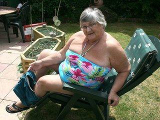 Grandma Libby - Relaxing In The Sun Picture Gallery