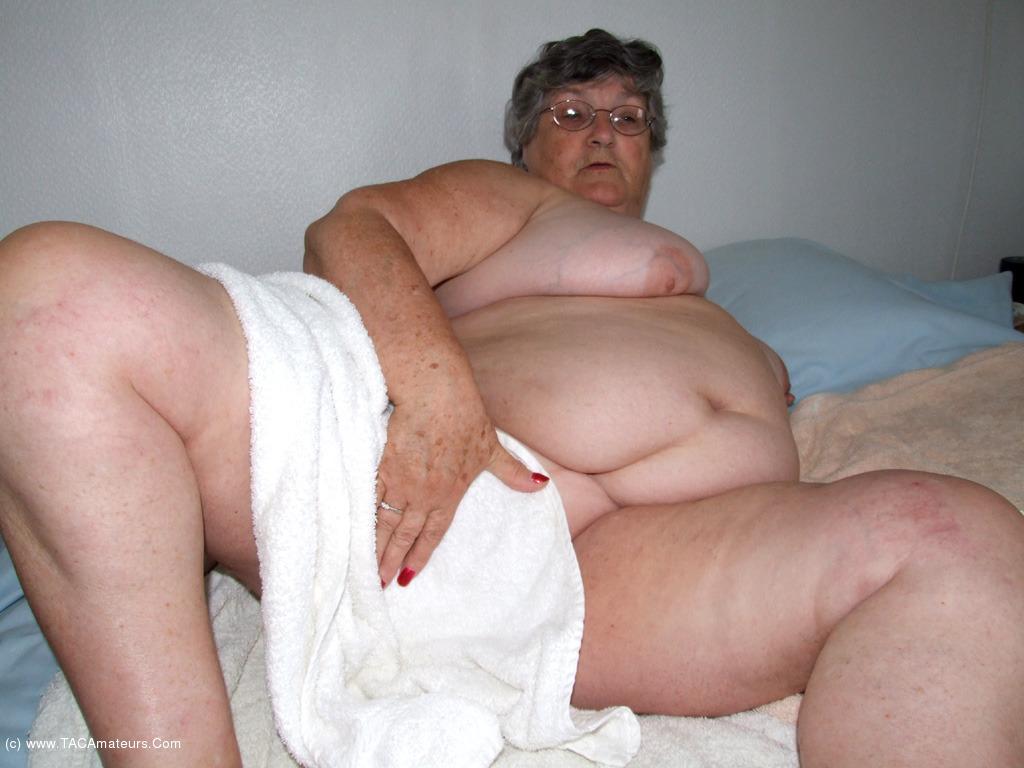 75 years old greedy grandma libby 3some - 4 2