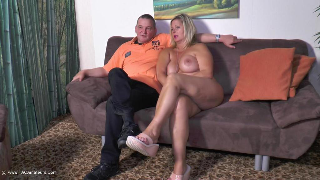 NudeChrissy - Shamless With The Visitor scene 3
