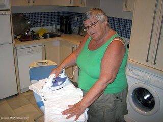 Grandma Libby - Ironing Picture Gallery
