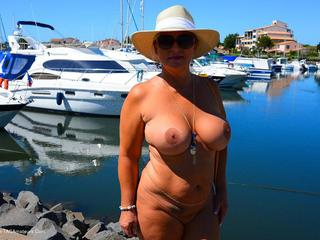 Nude Chrissy - Cap Agde 2015 HD Video