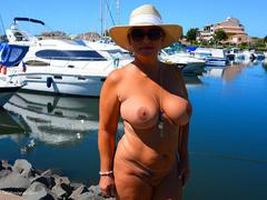 NudeChrissy - Cap Agde 2015 HD Video