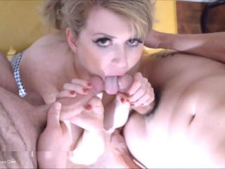 Daisy Haze - First Time Sucking Two Cocks - Part 2 HD Video
