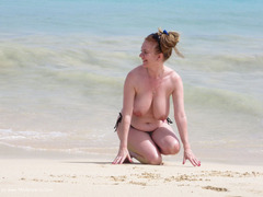 LilyMay - On The Beach HD Video