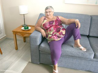Grandma Libby - New Purple Outfir Picture Gallery