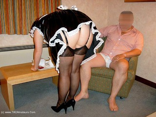 CurvyClaire - French Maid Pt2