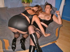 CurvyClaire - Leather Lesbos Pt1 Photo Album