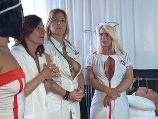 Nude Chrissy - The Nurses Erectile Problem HD Video