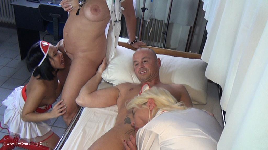 NudeChrissy - The Nurses Erectile Problem scene 1