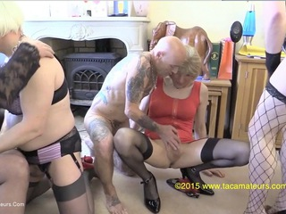 Jenny 4 Fun - Four Girls  Two Guys Pt5 HD Video