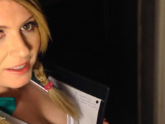 Daisy Haze - Girl Scout Gags Up & Is Throated Hard Pt1 HD Video