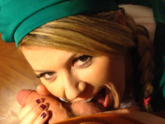 Daisy Haze - Girl Scout Gags Up & Is Throated Hard Pt2 HD Video